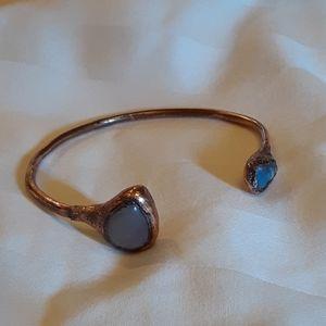 Free People Stone Cuff Bracelet